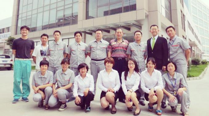 上海愛雅食品有限公司の社員達