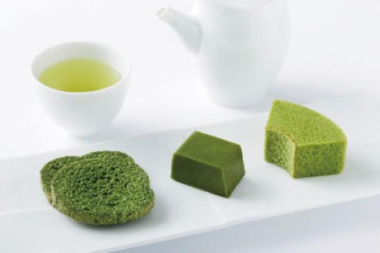 緑茶と抹茶スイーツ