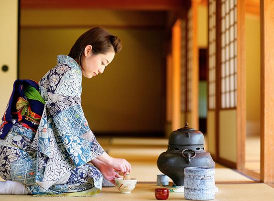 茶道の風景